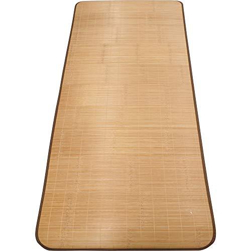 アーリエ(Arie) 竹シーツ 冷感 快適 天然竹使用 ごろ寝シート ひんやり冷感シーツ ブラウン 約80cm×180cm