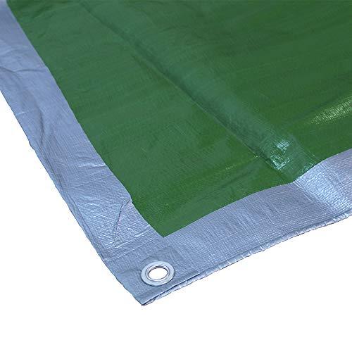 Faithfull Bâche Vert/Argent 5,4 x 3,6 m