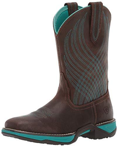 Ariat Women's Women's Anthem Western Boot, Java, 9 B US