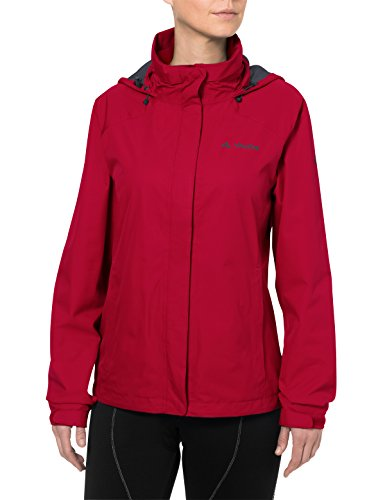 VAUDE Damen Jacke Escape Bike Light Jacket, indian red, 36, 049926140360