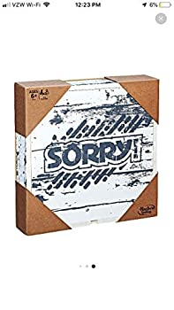 Sorry! Game  Rustic Series Edition
