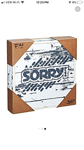 Sorry! Game: Rustic Series Edition
