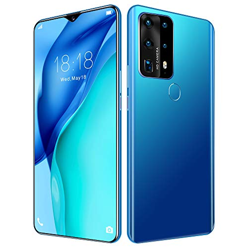 P40 Plus Offerta Cellulare, Schermo FHD + Waterdrop da 6,8pollici,Android 10.0,Dual Sim Smartphone, 12GB RAM+512GB ROM, Dual SIM,Pollice, Face UnlockDual SIM,/GPS