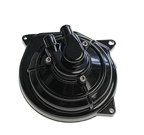 Wasserpumpe schwarz für Roller mit wassergekühltem Minarelli Motor, wie z. B. Yamaha Aerox, Aprilia SR 50, Beta Ark,Benelli 491