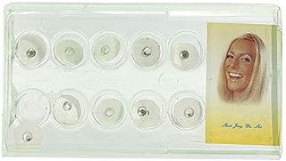 10Pcs/Box 2mm Shiny Imitation Crystal Oral Dental Teeth Jewelry Ornament