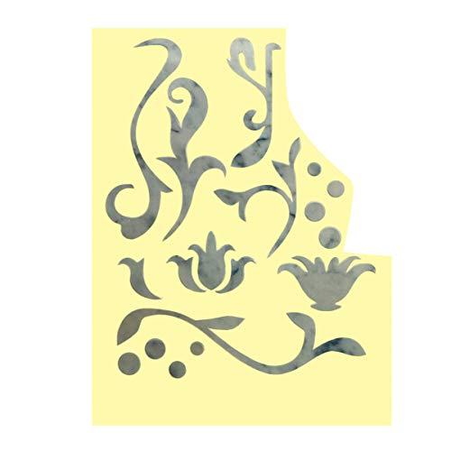 Healifty Gitarre Griffbrett Aufkleber PVC Silber Film Aufkleber Gitarre Griffbrett Aufkleber Griffbrett Inlay Aufkleber Geschnitzte Aufkleber für Bassgitarre Musikinstrumente