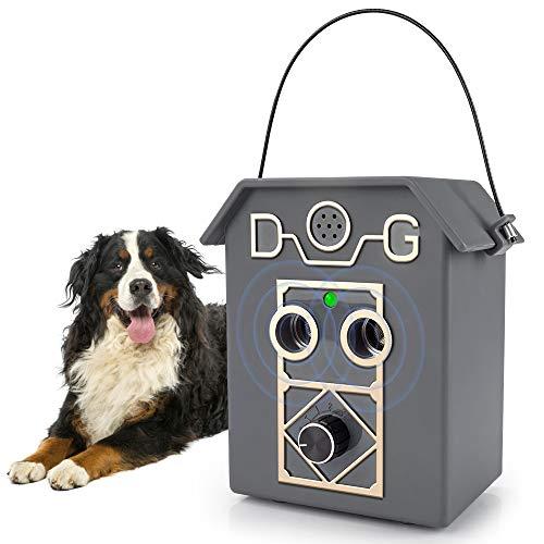 Ultrasónicos Dispositivo Antiladridos Para Perro, Dispositivo Antiladrido Ultrasónico Para Perros con Control Antiladridos Ajustables, Collar Antiladridos Entrenamiento Perros Pequeños a Grandes