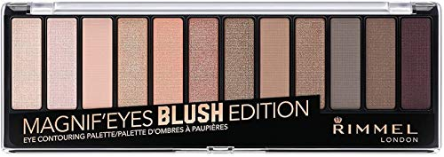 Rimmel Magnif'eyes Blush Edition Eye Contouring Palette - 002 Blush Edition