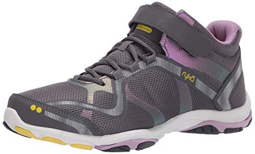RYKA Women's Influence Mid Training Shoe, quiet grey, 10