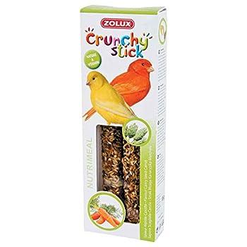 Zolux Crunchy Stick Friandise pour Canari Alpiste/Carotte 85 g