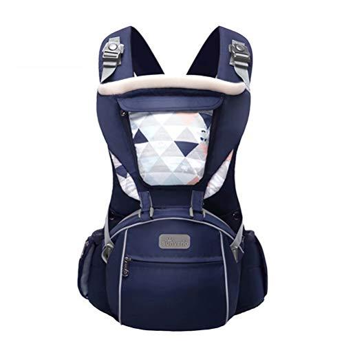 MYJHUIY Babytrage für 0-36 Monate, atmungsaktiver Babytrage-Rucksack für Neugeborene bis Kleinkinder, nach Sicherheitsstandard zugelassen, ergonomische Baby-Hüftsitz-Vordertrage , D.