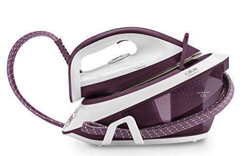 Calor SV7010C0 Centrale Vapeur Liberty 5,3 bars Effet Pressing jusqu'à 300g/min Mode Eco Défroissage Vertical Violet
