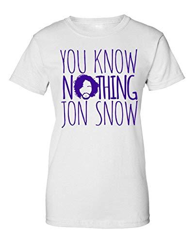 You Know Nothing Jon Snow Damen T-Shirt Large