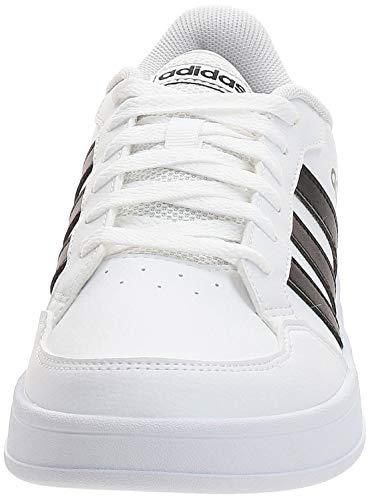 adidas BREAKNET, Zapatillas de Tenis Hombre, FTWBLA/NEGBÁS/NEGBÁS, 44 EU