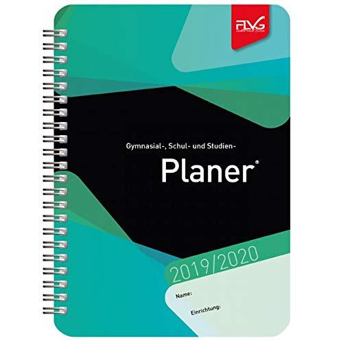 Gymnasial-, Schul- und Studienplaner 2019/2020 - grünes Cover