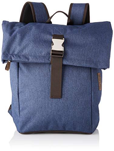 BREE Collection Unisex-Erwachsene Punch Style 93, Jeans Denim, B.p. M S19 Rucksack Blau (Jeans Denim)