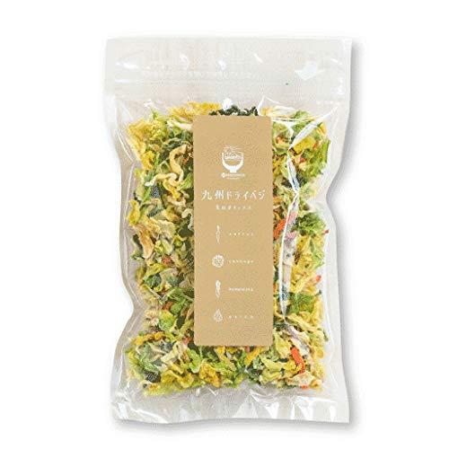 九州ドライベジ 乾燥野菜 九州産 野菜&玉ねぎミックス 100g 1袋 みそ汁の具 ラーメンの具 インスタントラーメン スープ 非常食