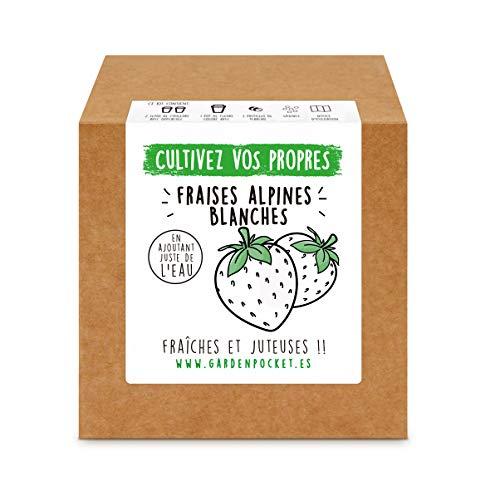 Garden Pocket - Kit de Culture de FRAISES BLANCHES
