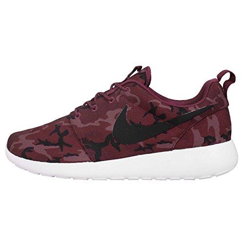 Nike Roshe Run Imprimé, Pour Homme Athlétisme Chaussures - villain rouge noir team rouge léger mulberry 660, Homme, 44-