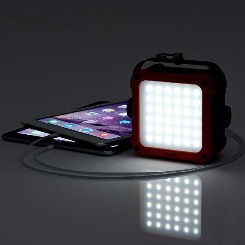 ロゴス(LOGOS)ライトパワーストックランタン2000LEDライトiPad&iPhone2台同時充電可能アウトドア・非常用