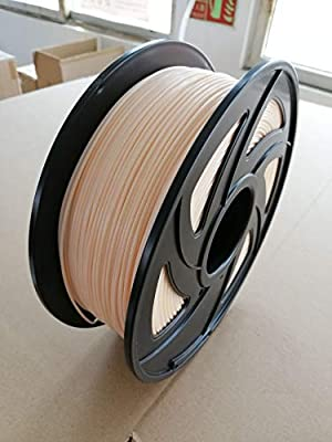 W-Shufang,3D 3D Printer 1KG 1.75mm PLA Filament Printing Materials Colorful for 3D Printer Extruder Pen Rainbow Plastic Accessories Red Gray (Color : Beige)
