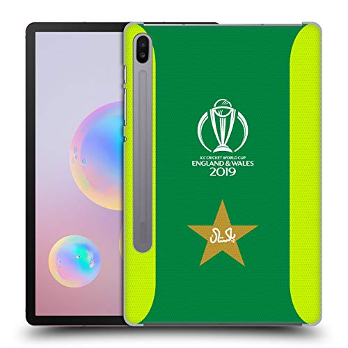 Head Case Designs Officially Licensed ICC Jersey Pakistan Cricket World Cup Hard Back Case Compatible with Samsung Galaxy Tab S6 (2019)