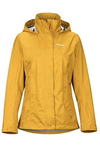 Marmot Damen Wm's PreCip Eco Jacke, Yellow Gold, S
