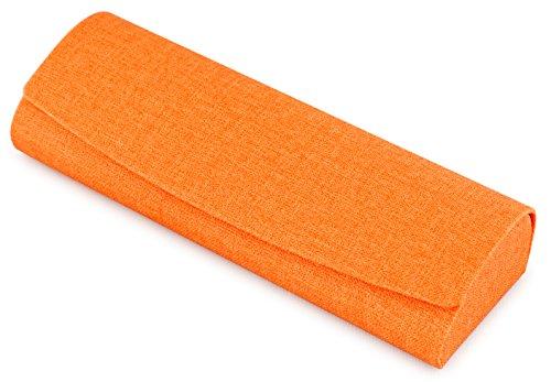 テーシーケース メガネケース オレンジ ハード マグネット 薄型 HY-80135-22