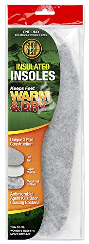 Shoe Gear 794-30 Warm & Dry Insulated Insoles