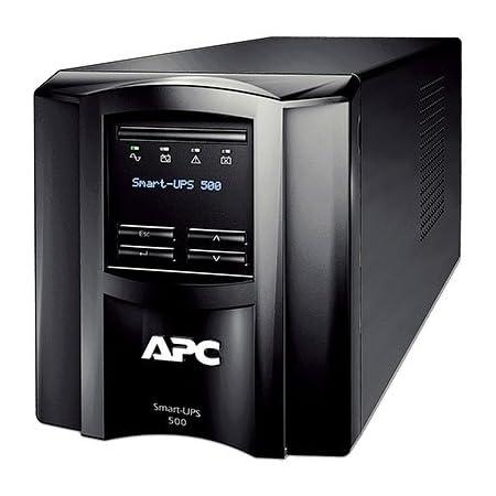 APC(エーピーシー) 無停電電源装置 UPS ラインインタラクティブ給電 長寿命バッテリー 正弦波 1年保証 SMT500J E