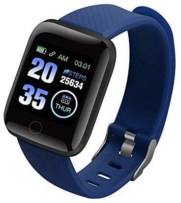 Fitness Trackers, Health Oefening Horloge met Hartslag en Slaap Monitor Calorie Stap Counter-4 kleuren