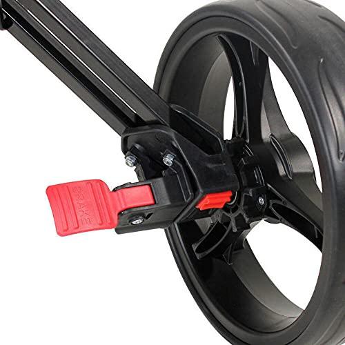 Masters 5 Series 3-Rad-Golftrolley, schwarz - 5