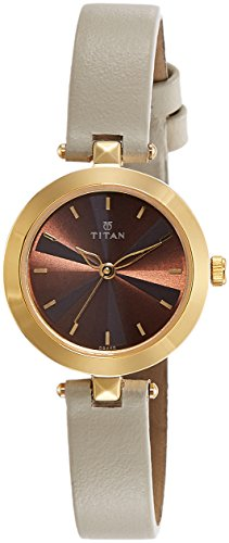 Titan Analog Brown Dial Women's Watch-2574YL01