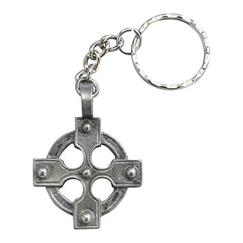 Zinngeschenke Keltisches Kreuz Gothik (HxB) 4,5 x 3,5 cm Gothic Kettenanhänger, Kreuz Anhänger Schlüsselanhänger Kreuz Gothic Schmuck Deko