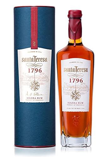 Santa Teresa 1796, Solera Rum Venezuelano, Vincitore medaglia d'oro San Francisco World Spirits Competition 2020 - 70 cl