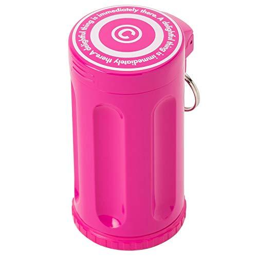Dreams(ドリームズ) 携帯灰皿 シガーネスト ハニカム 7本収納 ピンク MDL45120直径3.5×高さ7.0cm