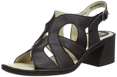 Fly London Damen Lari180fly Sandalen, Schwarz (Black 000), 40 EU