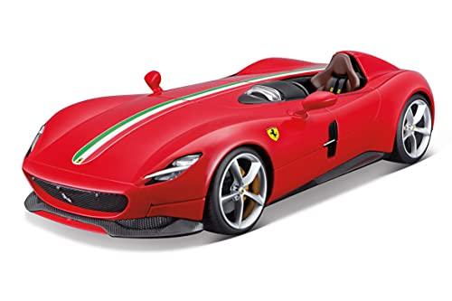 Bburago B18-16909 Ferrari Signature Monza SP-1, Varios diseños y Colores, May Cheong