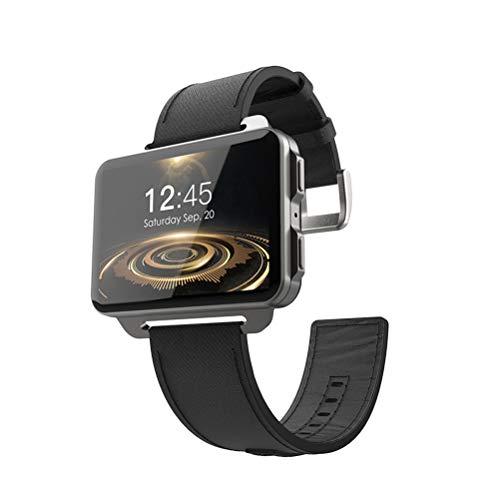 "ibasenice 3G Smart Watch Phone LEM4 PRO 2. 2""Tela grande Android Quad Core 1. 3 Ghz 1GB RAM 16GB ROM GPS Monitor de freqüência cardíaca pedômetro para Android iOS (preto)"