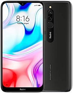 "Xiaomi Redmi 8 Smartphone, 6.2"", Dual SIM, 32GB, 3GB RAM, Onyx Black"
