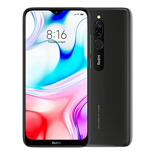 "Xiaomi Redmi 8 Onix Black 6.22 ""4gb / 64gb दोहरी सिम"