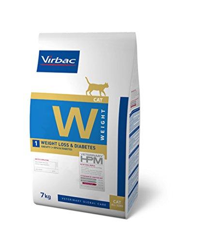VIRBAC HPM Feline Weight Loss Diabetes W1 7KG