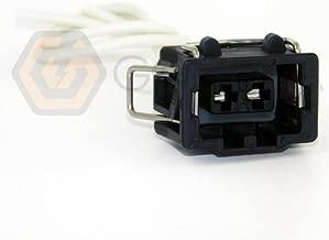 1x Connector 2-way 2 pin for VW Volkswagen AC Compressor Jetta Golf GTI MK4