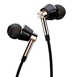 1MORE Triple Driver In-Ear Earphones Hi-Res Headphones with High Resolution, Bass Driven Sound