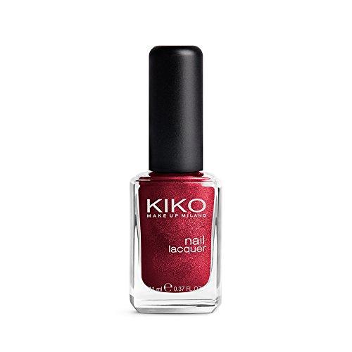 Kiko Make Up Milano Nail lacquer Nagellack Nr. 493 Vino Perlato Inhalt: 11ml Nail Polish Nagellack.