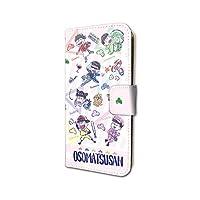 おそ松さん 07 六つ子 場面写Ver. (グラフアートデザイン) 手帳型スマホケース iPhone6/6S/7/8兼用