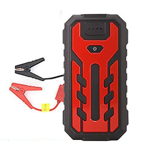 LBYDXD Arrancador de Coches, 12V Arrancador de Baterias de Coche, Motor máximo de Gasolina de 6.0 L/diésel de 4.0L, Linterna LED, Puerto USB para Smartphone