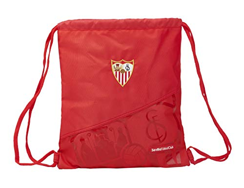 safta Großer Fußsack Sevilla FC offiziell, 350 x 400 mm
