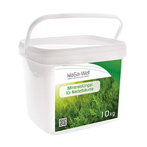 Mineraldünger für Nadelbäume Dünger Pflanzendünger NPK-Dünger Düngemittel 10kg
