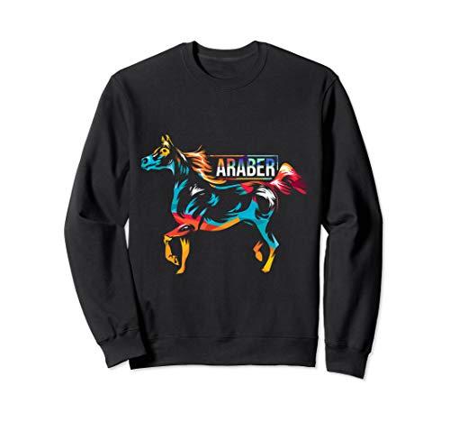 Araber Arabisches Halbblut Pferde Sweatshirt